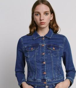 Kurtka Reserved z jeansu krótka