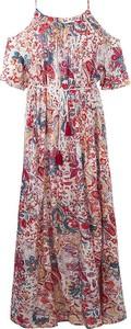 Sukienka Coline z krótkim rękawem maxi