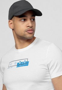 T-shirt 4F w młodzieżowym stylu z dzianiny