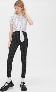 Czarne legginsy Cropp w stylu klasycznym
