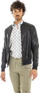Czarna kurtka Bully w stylu casual ze skóry krótka