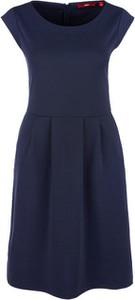 Niebieska sukienka S.Oliver midi