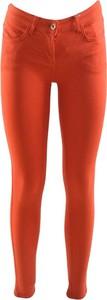 Pomarańczowe jeansy Patrizia Pepe w stylu casual