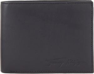 Czarny portfel męski Tommy Hilfiger