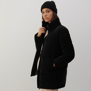 Czarna kurtka Reserved w stylu casual bez kaptura