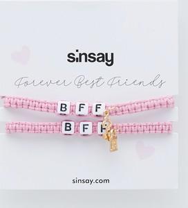 Sinsay - Bransoletki BFF dla przyjaciółek - Złoty