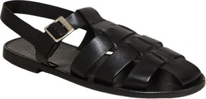 Czarne buty letnie męskie Grenson