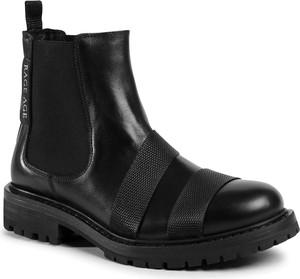Czarne buty zimowe Rage Age