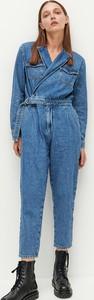 Niebieskie jeansy Reserved z jeansu w stylu casual
