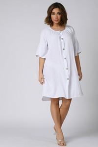 Sukienka Plus Size Company mini oversize z bawełny
