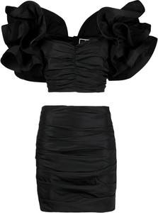 Sukienka Elisabetta Franchi z krótkim rękawem mini