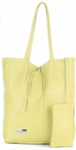 Żółta torebka VITTORIA GOTTI ze skóry