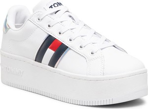 Buty sportowe Tommy Jeans sznurowane na platformie