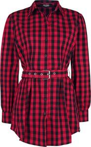 Czerwona koszula Emp z bawełny