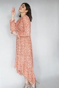 Sukienka Endoftheday asymetryczna maxi
