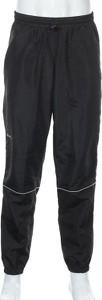 Czarne spodnie sportowe Craft w sportowym stylu z dresówki