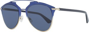 Niebieskie okulary damskie Dior