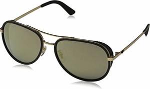 amazon.de Police okulary przeciwsłoneczne dla mężczyzn EDGE 7, szare (półmatowe szare złoto/złoto)