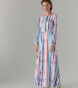 7a5502d9e1 Sukienka Mohito w stylu casual z okrągłym dekoltem trapezowa