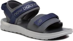 Buty letnie męskie New Balance na rzepy