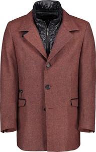 Czerwony płaszcz męski Lavard