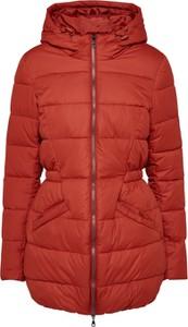 Czerwony płaszcz Ichi w stylu casual