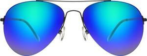 Niebieskie okulary damskie Moretti