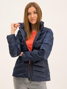 Granatowa kurtka Emporio Armani krótka w stylu casual