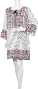 Sukienka Rivers z okrągłym dekoltem w stylu casual z długim rękawem