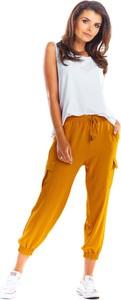 Pomarańczowe spodnie Awama