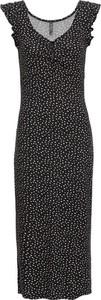 Czarna sukienka bonprix RAINBOW bez rękawów maxi