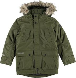 Zielona kurtka dziecięca Regatta