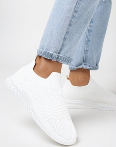 Buty sportowe born2be w sportowym stylu z płaską podeszwą
