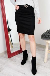 Spódnica Olika mini z zamszu