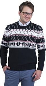 Czarny sweter M.lasota