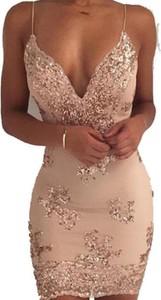 Brązowa sukienka Kendallme na ramiączkach dopasowana