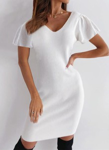 Sukienka Sandbella midi z bawełny