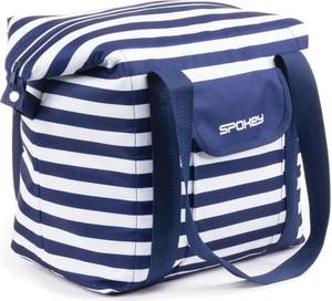 Niebieska torebka Spokey w wakacyjnym stylu