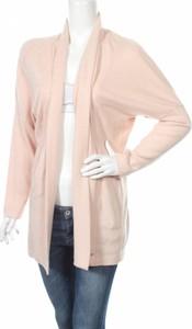 Różowy sweter Opus w stylu casual