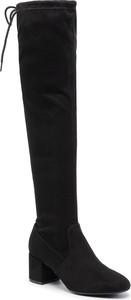 Czarne kozaki Jenny Fairy za kolano