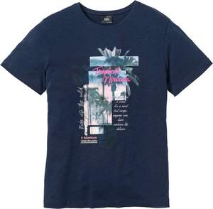 Niebieski t-shirt bonprix bpc bonprix collection