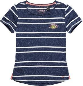 Granatowa koszulka dziecięca o'neill z krótkim rękawem