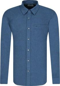 Koszula Calvin Klein z długim rękawem z bawełny