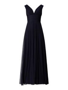 Sukienka Troyden Collection bez rękawów rozkloszowana z dekoltem w kształcie litery v