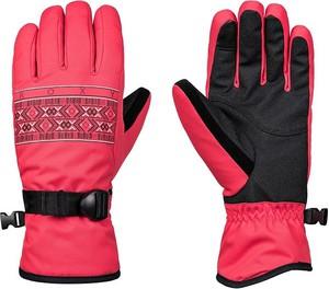 Różowe rękawiczki Roxy