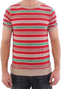 Czerwony t-shirt Dolce & Gabbana