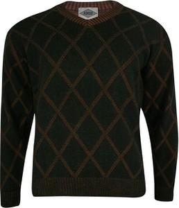 Sweter Kings w młodzieżowym stylu z okrągłym dekoltem