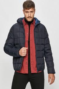 Granatowa kurtka Wrangler w stylu casual z tkaniny krótka