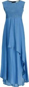 Niebieska sukienka Marella