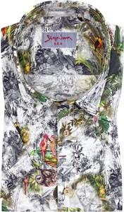 Koszula Signum z bawełny z krótkim rękawem